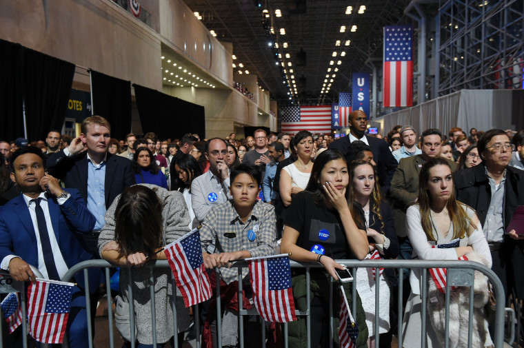 Hillary Clinton Holds Election Night Event New York City