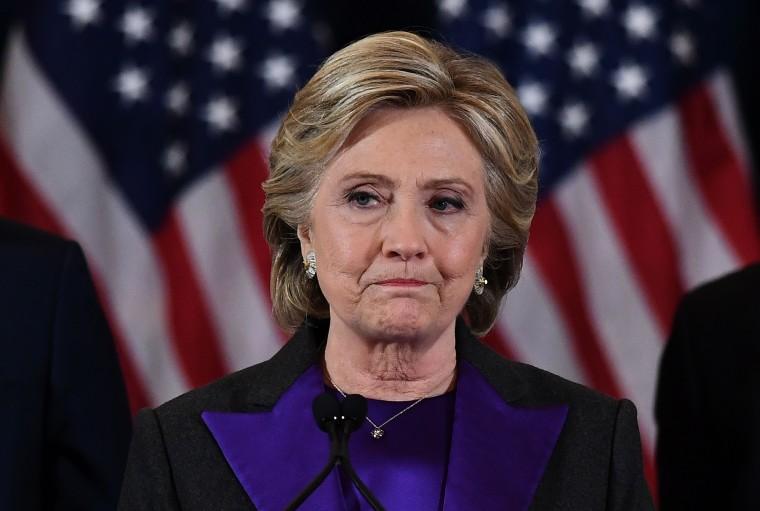 Image: US-VOTE-CLINTON