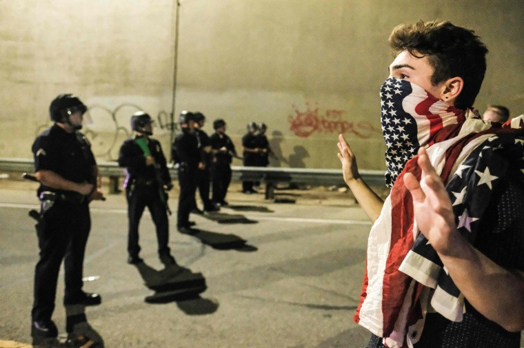 Image: TOPSHOT-US-VOTE-PROTEST