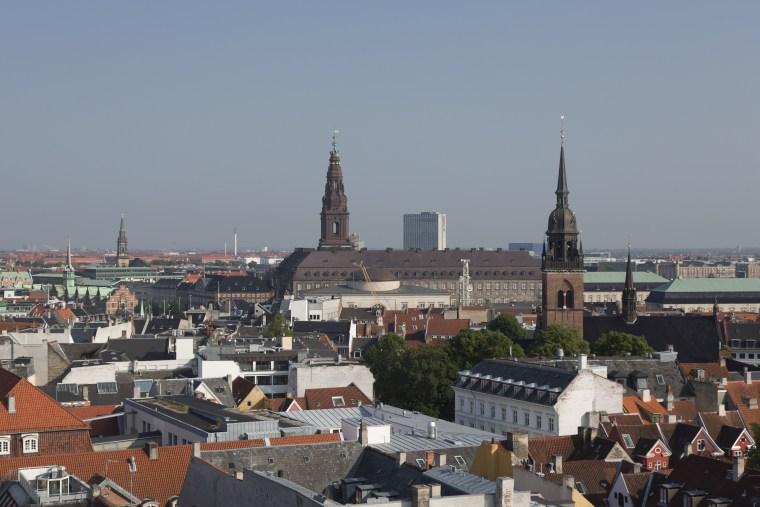 Blick vom Runden Turm ?ber Kopenhagen