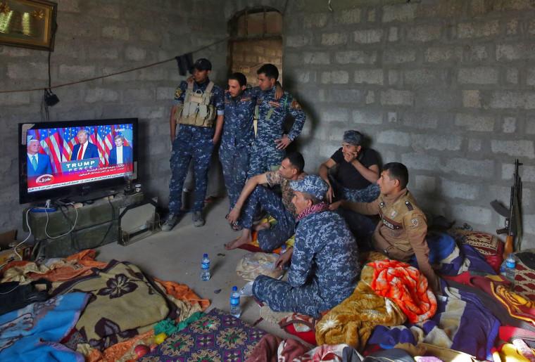 Image: TOPSHOT-IRAQ-US-CONFLICT-TRUMP
