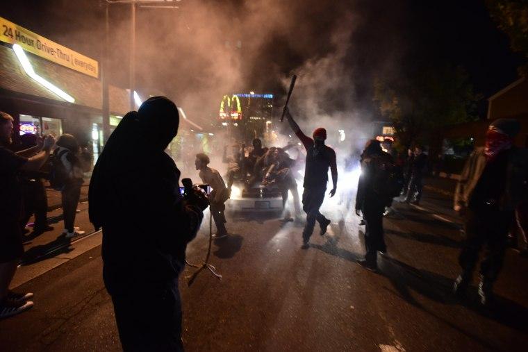 Image: Portland Protests Against Trump