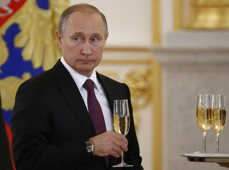 Image: Vladimir Putin on Nov. 9, 2016