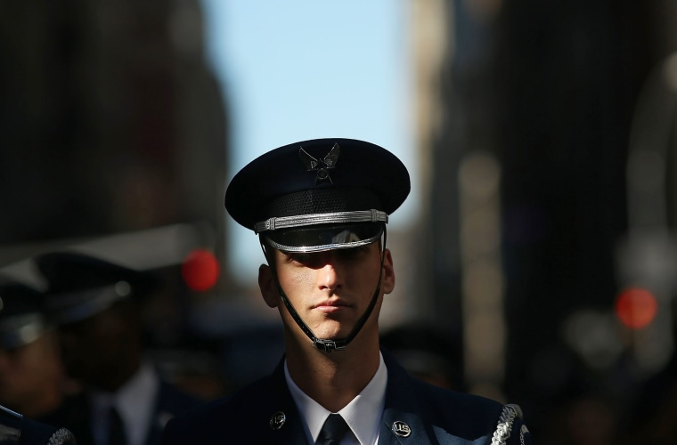 Image: New York City Celebrates Veterans Day With Annual Parade