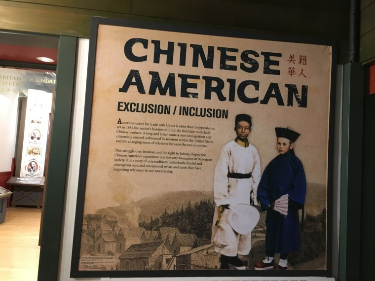 "The largest exhibition to date about Chinese-American history and experience, ""Chinese American: Exclusion/Inclusion,"" was permanently installed at the Chinese Historical Society of America (CHSA) in San Francisco this week."