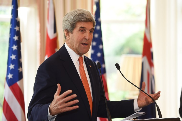 Image: U.S. Secretary Of State John Kerry Visits Wellington