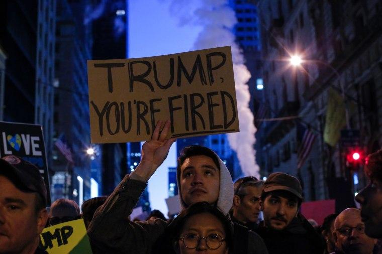 Image: TOPSHOT-US-VOTE-TRUMP-PROTEST