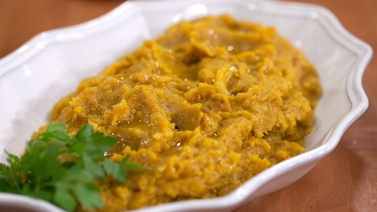 Squash extravaganza: Thanksgiving recipes for summer and winter squash.Camila Alves-Acorn Squash with Brown Butter and HoneyTODAY, November 14th 2016.