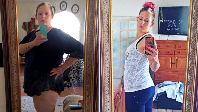 Misty Mitchell cut alcohol out of her diet and lost 139 pounds.