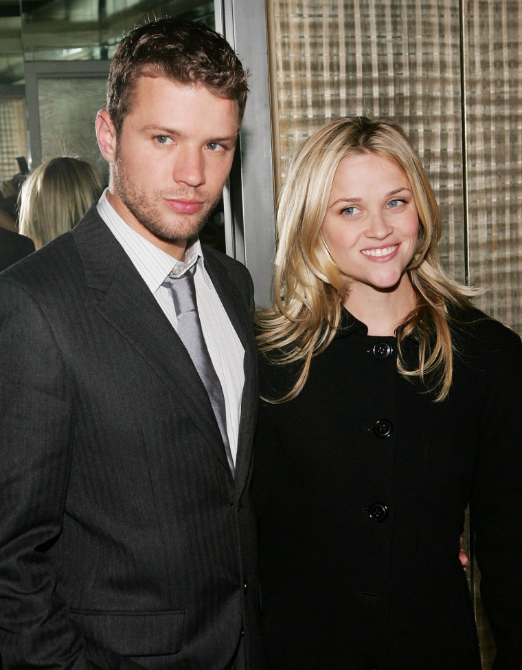 Ryan Phillippe and wife Reese Witherspoon