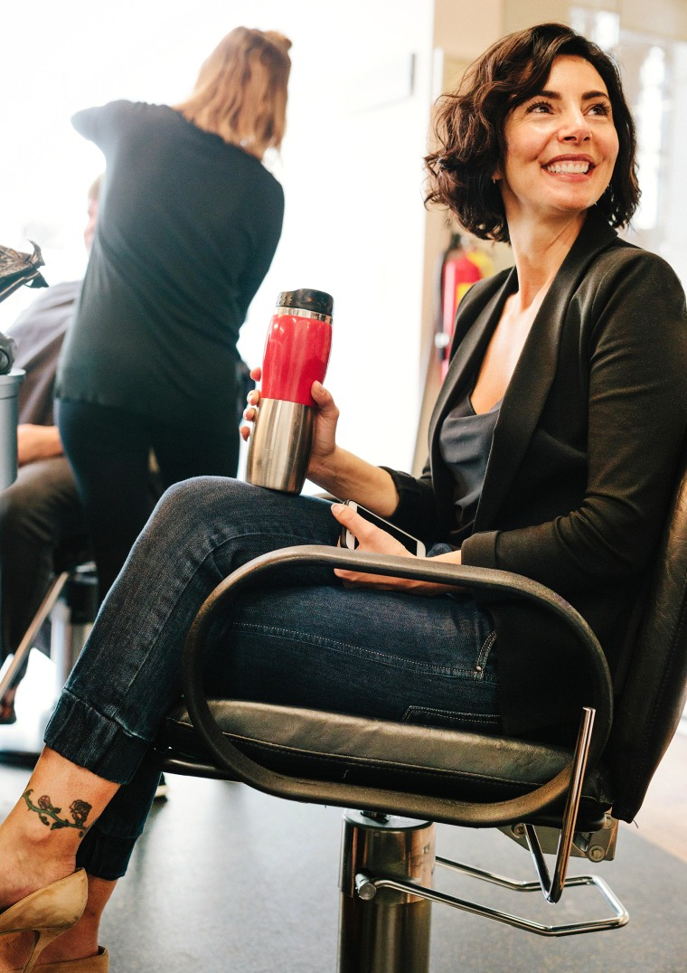 Perm services on the rise at hair salons