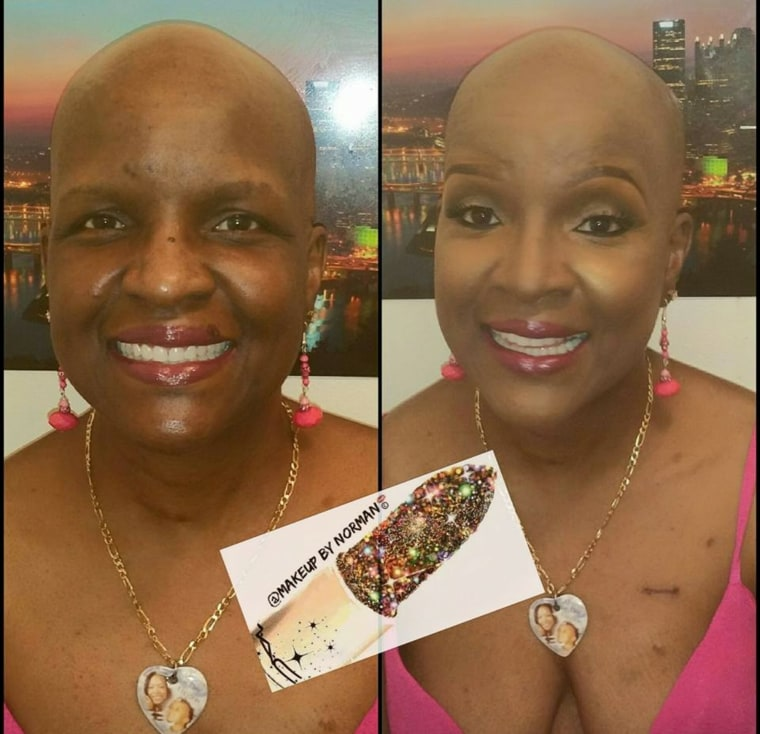 Makeup artist Norman Freeman offers free makeovers to cancer patients.