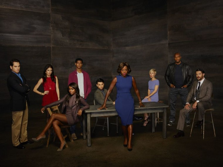 "The cast of ""How To Get Away With Murder."""
