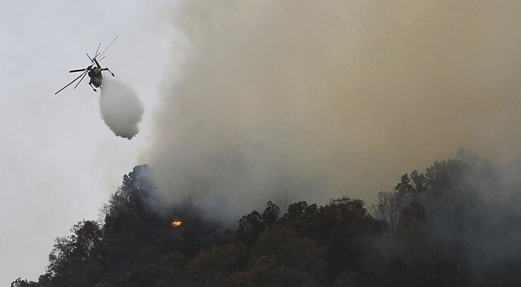 Image: North Carolina wildfire