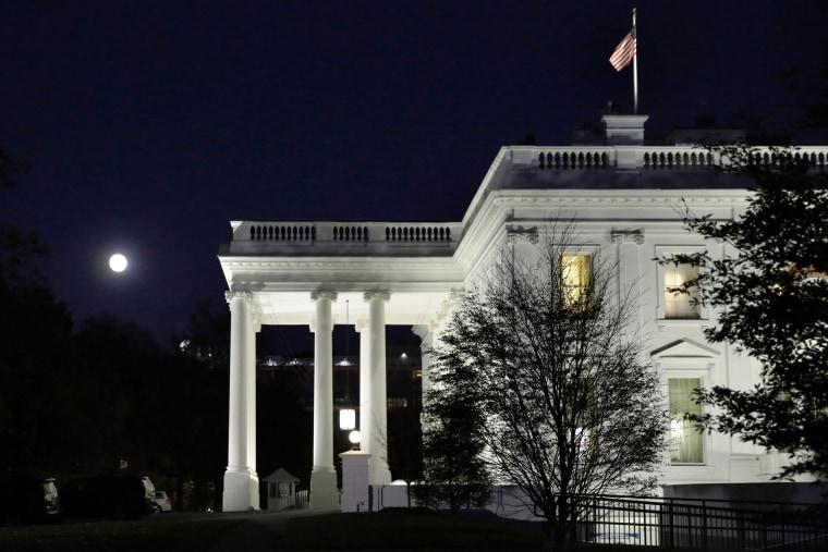 Image: US-POLITICS-ASTRONOMY-MOON