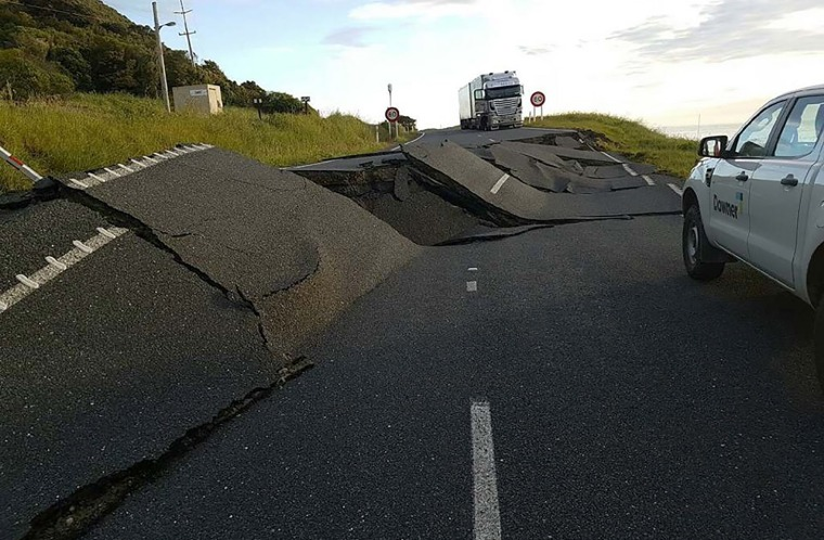 Image: NZEALAND-EARTHQUAKE