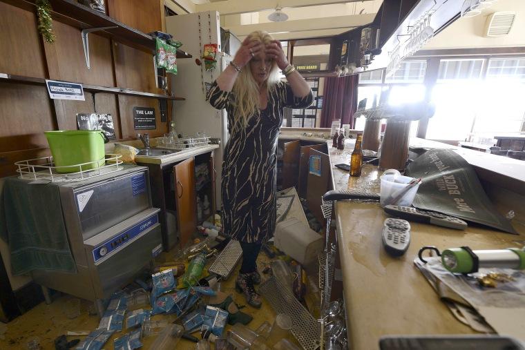 Image: 7.5 Magnitude Earthquake Hits New Zealand