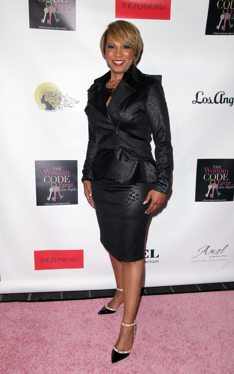 """Angie Harmon Hosts An Evening With Author Of """"The Woman Code"""" Sophia A. Nelson - Arrivals"""