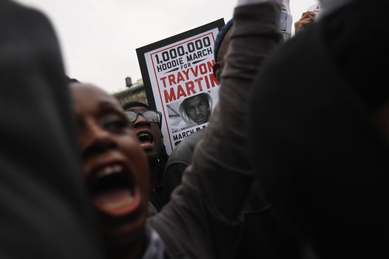 Image: A Million Hoodies March Protests Death Of Trayvon Martin