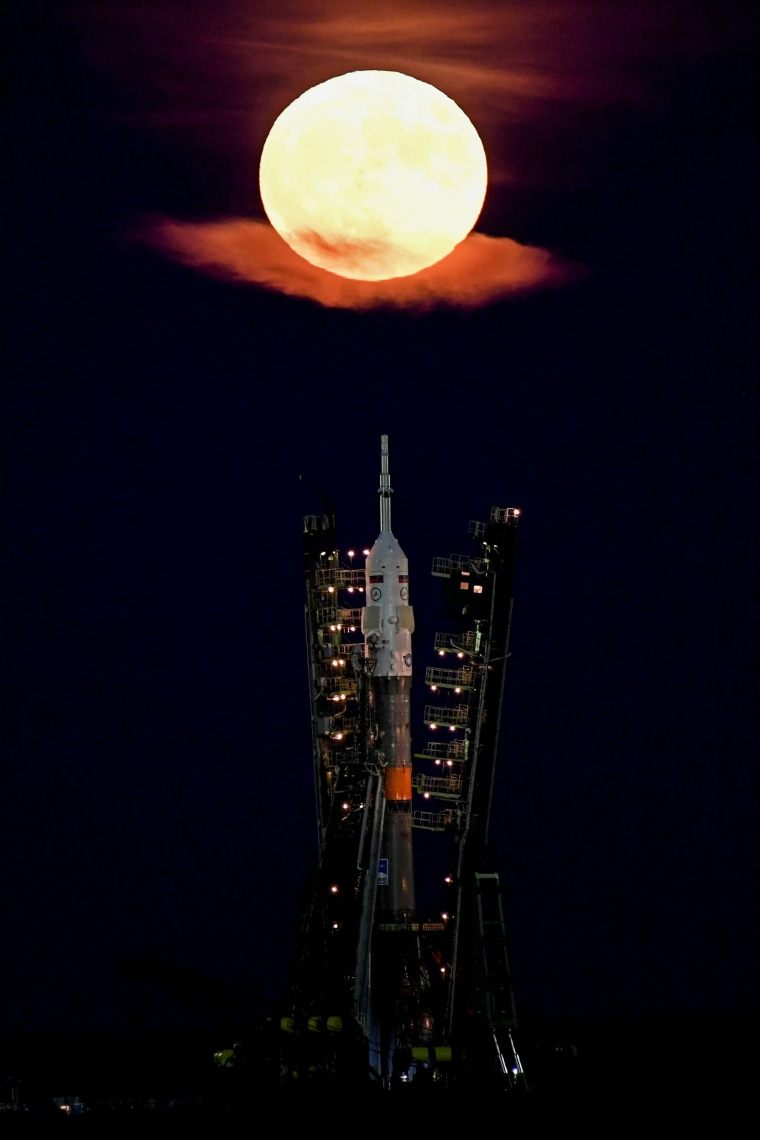 Image: KAZAKHSTAN-SCIENCE-ASTRONOMY-MOON-PHENOMENON
