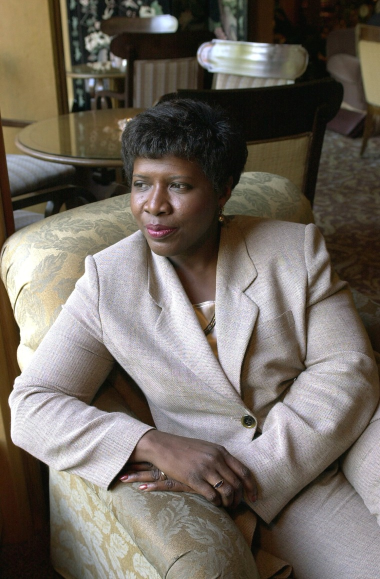 Gwen Ifill At The Four Seasons