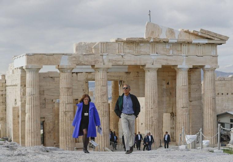 Image: Barack Obama, Eleni Banou