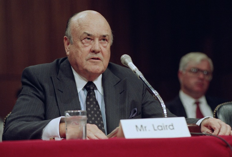 IMAGE: Melvin Laird in 1992