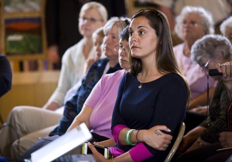 Image: Erica Lafferty, daugther of Sandyhook Elementary School victim Dawn Hochsprung