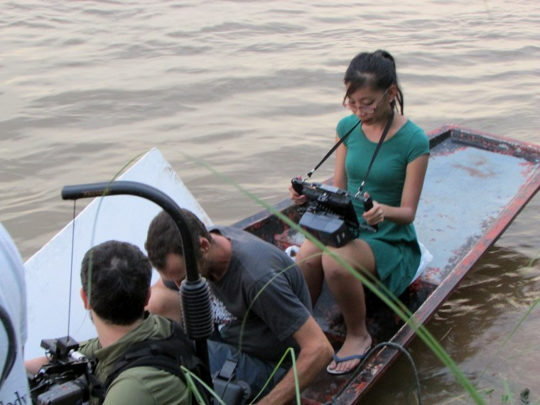 "Mattie Do is Laos' first female director and also helmed the first female-driven film in Laotian film history, 2013 ""Chanthaly."""