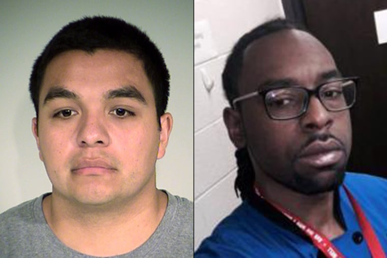 St. Anthony, Minnesota Police Officer Jeronimo Yanez, left, and Philando Castile, right.
