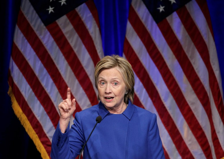 Image: Hillary Clinton speaks to the Children?EUR(TM)s Defense Fund in Washington