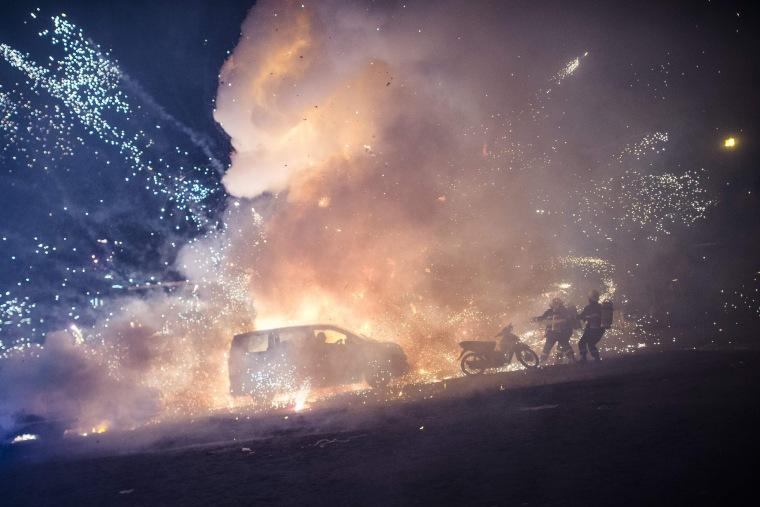 Image: TOPSHOT-MYANMAR-CULTURE-FESTIVAL