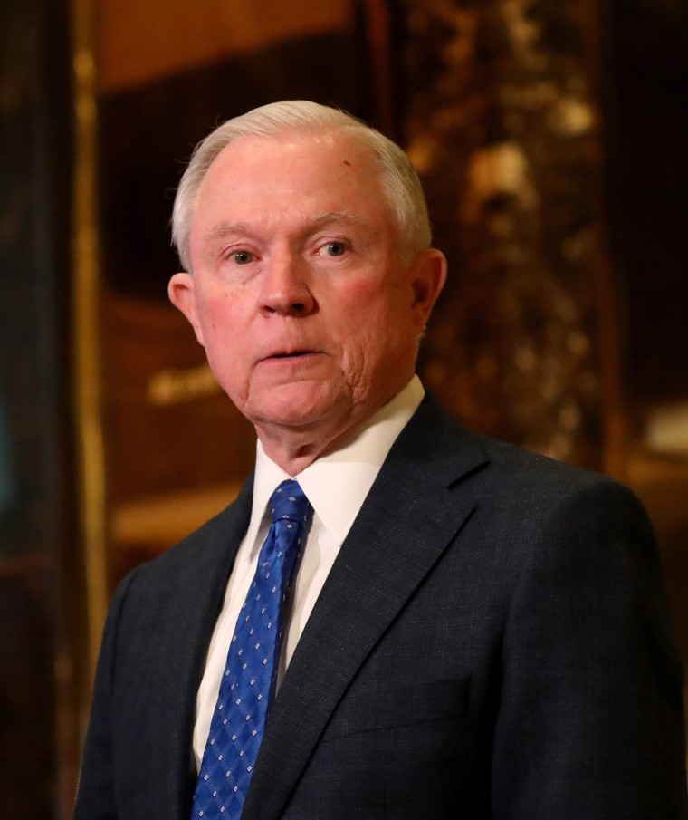 Image: Trump selects Alabama Senator Sessions for Attorney General