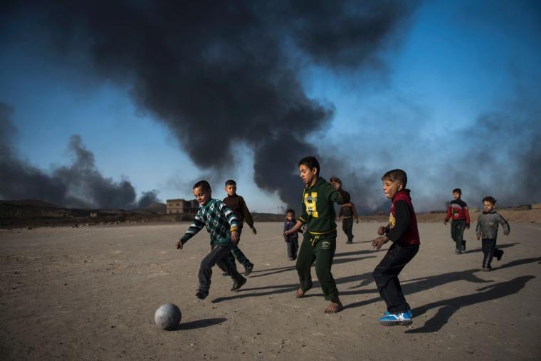 Image: TOPSHOT-IRAQ-CONFLICT-MOSUL