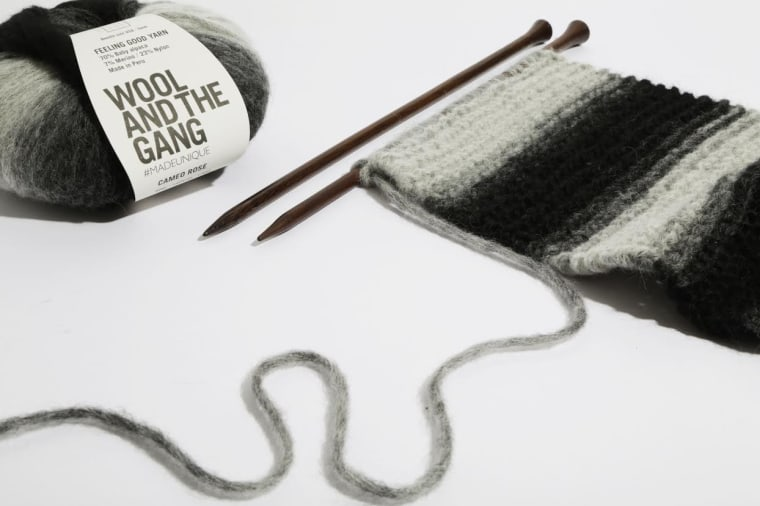Wool and the Gang 'Me Time' Scarf Kit
