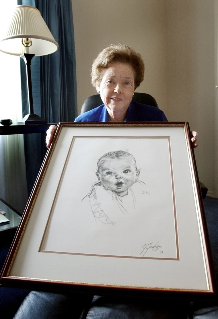 Ann Turner Cook, whose baby face launched the iconic Gerber logo