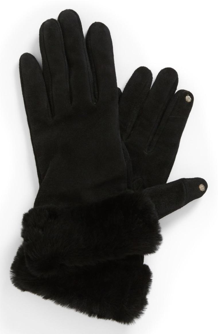 Ugg Australia 'Kotah' shorty tech gloves