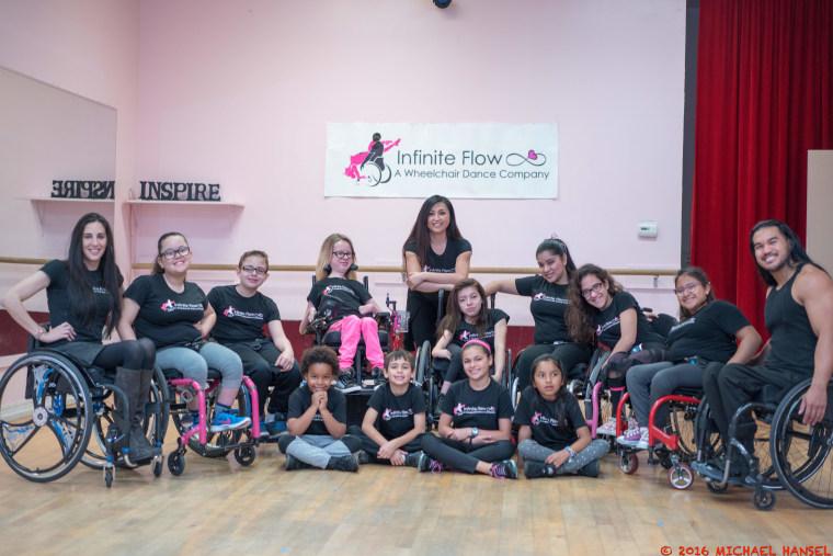 Students from Marisa Hamamoto's Infinite Flow Kids program at Infinite Flow.