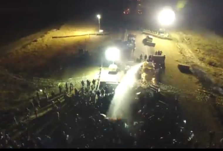IMAGE: Standing Rock Sioux Dakota Access Pipeline protest