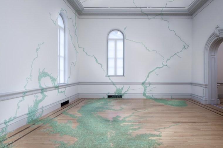 """Folding the Chesapeake"", 2015, Renwick Gallery, Smithsonian Art Museum, Washington DC"
