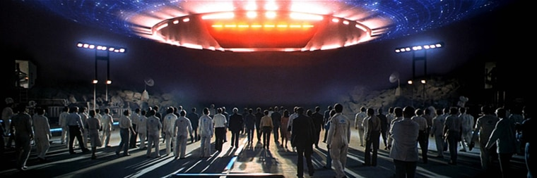 "Image: ""Close Encounters of the Third Kind"" movie from 1977"