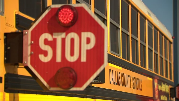 An NBC News investigation of traffic violations led Dallas County Schools to suspend more than 200 drivers.