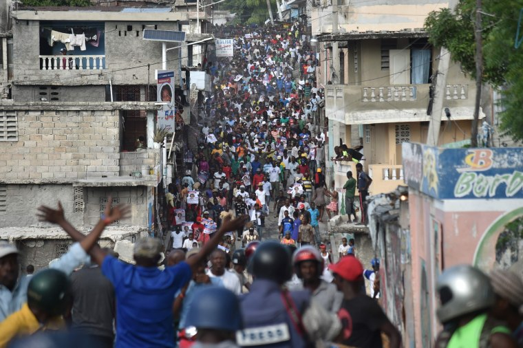 Image: HAITI-VOTE-UNREST