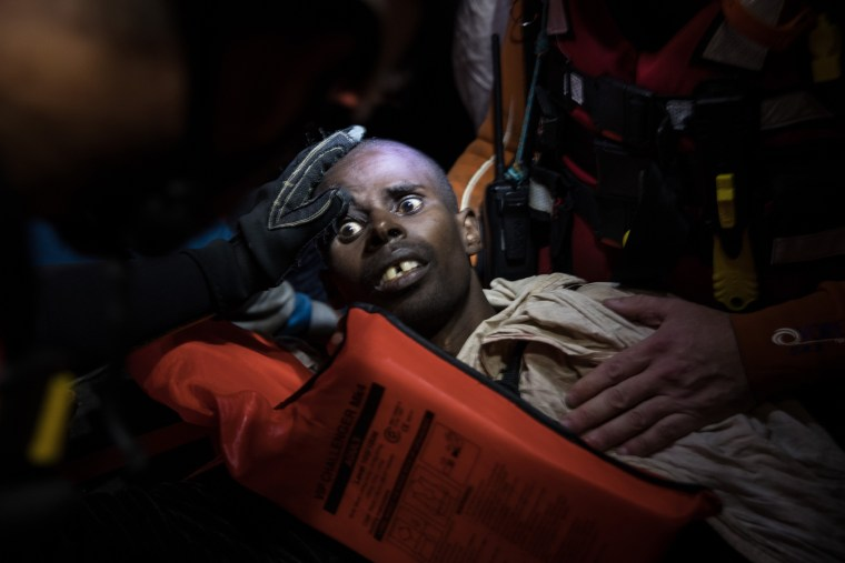 Image: MOAS Conduct Rescue Operations Off The Libyan Coast