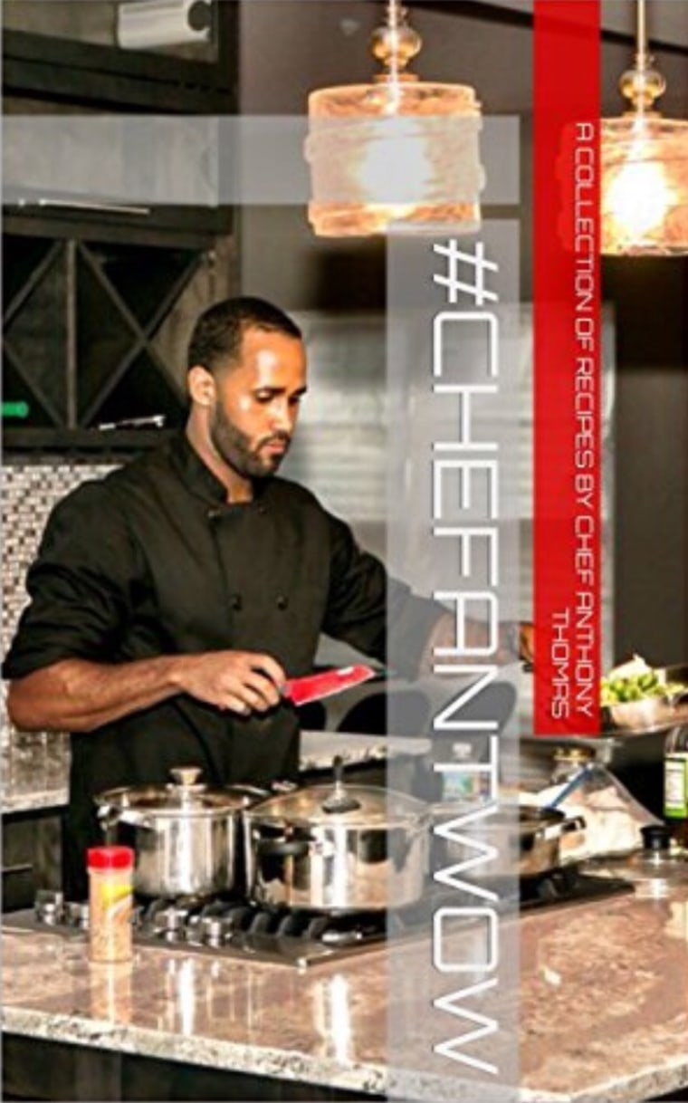#ChefAntWow, Chef Anthony Thomas' first cookbook.
