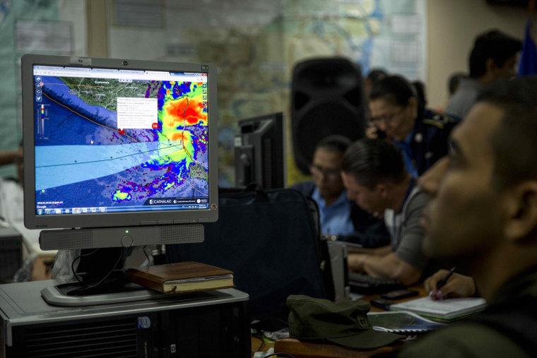 Image: Hurricane Otto approaches Nicaragua