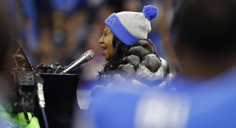 Image: Aretha Franklin in Detroit