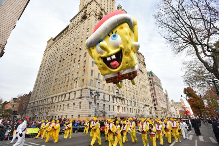 Image: 90th Macy's Thanksgiving Day Parade, New York, USA - 24 Nov 2016