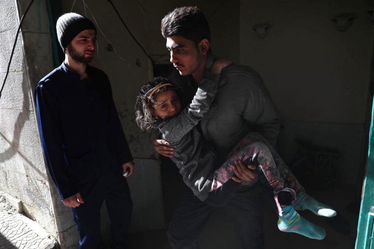 Image: SYRIA-CONFLICT-DOUMA