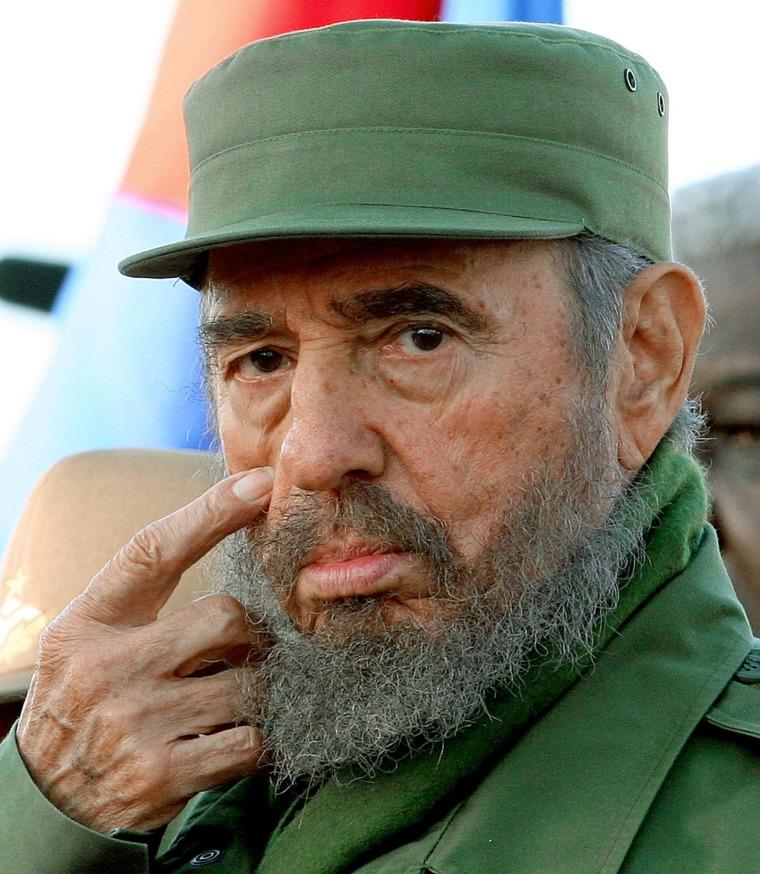 Image: Fidel Castro in 2007